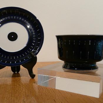 VALENCIA ARABIA FINLAND MOKA DEMITASSE - Art Pottery