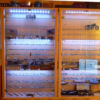 New Display Cabinets for my silver Pencils etc.