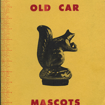 Old Car Mascots - paperback booklet 48 Pgs. - Art Deco