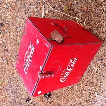 1960's to 1970's sales mans box!  - Coca-Cola