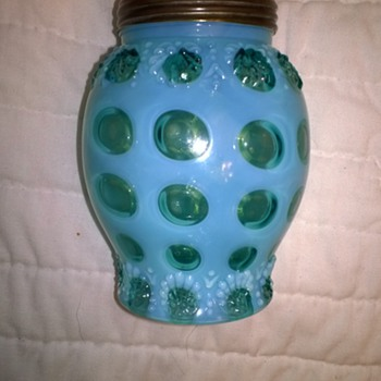 Very Rare Polka Dot Sugar Shaker - Glassware