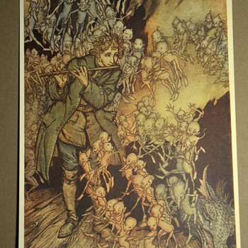 More Rackham images from Little Brother and Little Sister - The Brothers Grimm - Illustrated by Arthur Rackham - 1917 - Posters and Prints
