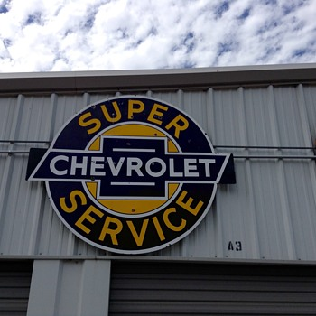 Chevy Super Service - Petroliana