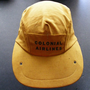 Colonial Airlines Hat - Advertising