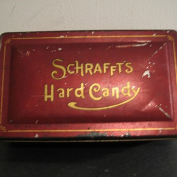 Schrafft's Chocolates Pressed Glass Dish-Part 3