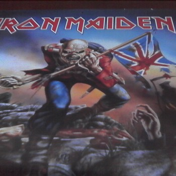 Iron Maiden Art Calendar - Music Memorabilia