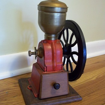 Early  small 1920's Coffee Grinder