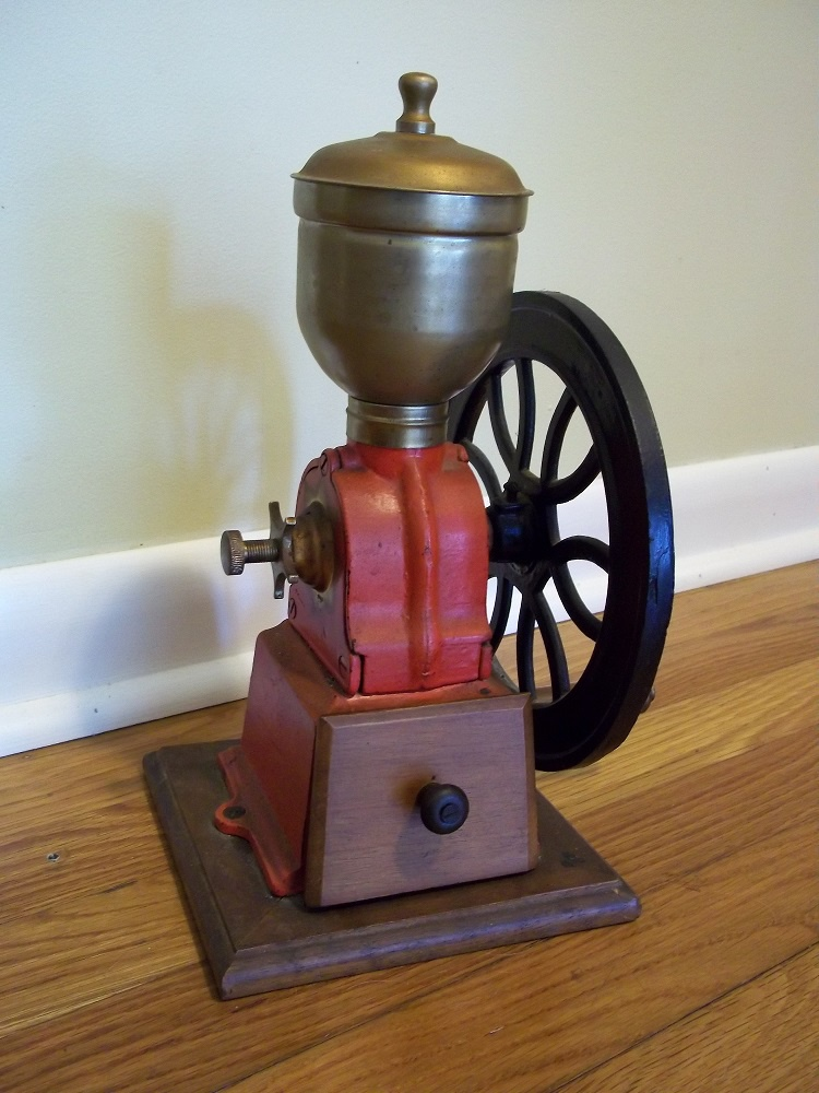 Coffee Grinder Of 1920 ~ Early small s coffee grinder collectors weekly