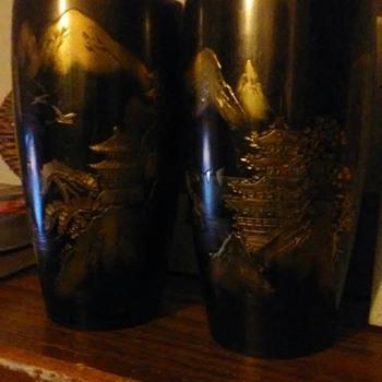 Japanese/Chinese vases - Asian