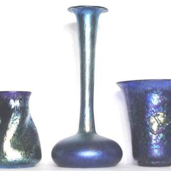 LOETZ BLUE PAPILLON I - Art Nouveau