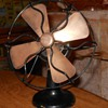 "Polar Cub Type G 6"" Electric Fan Early 1920s Brass Blades"