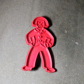 Vintage Tupperware Gingerbread Man Cookie Cutter