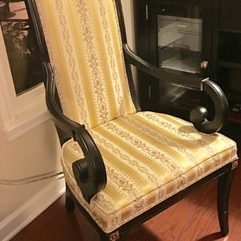 Statesville Chair Co. awesome arm chair