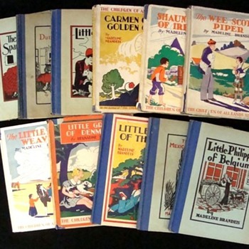 "'Children of All Lands Books"", 1930's"