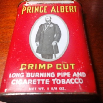 Prince Albert pocket tin. - Tobacciana