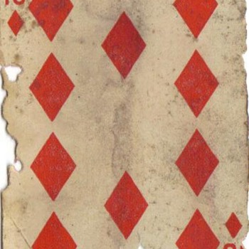 Baseball player/10 of Diamonds - Cards
