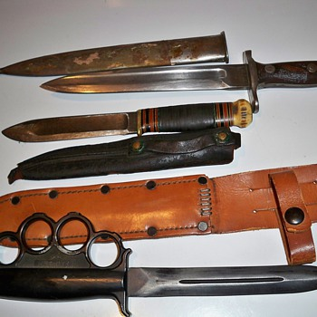 antique fixed blade knives - Tools and Hardware