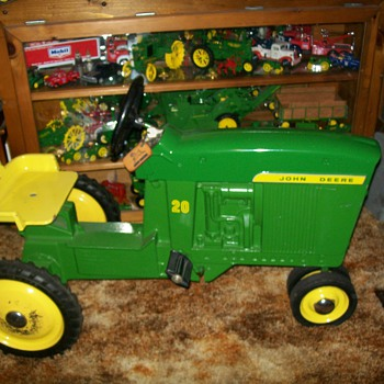 My first pedal tractor