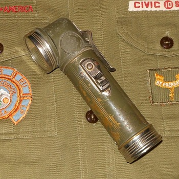 Vintage Boy Scout Flashlight - Sporting Goods
