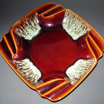 Glazed Ashtray
