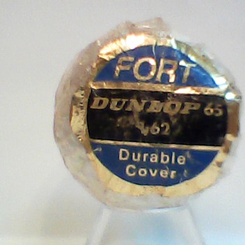"The ""Fort Dunlop"" Dunlop 65 Golf Ball - Sporting Goods"