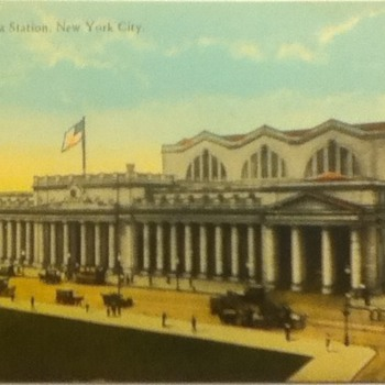 Pennsylvania Station Postcard
