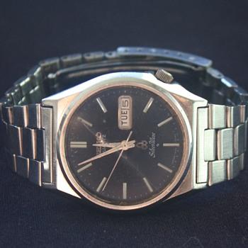 SEIKO 'Silver Wave' QUARTZ ANALOG Men's Wristwatch, 1979 - Wristwatches