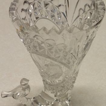 Bird Cornucopia Vase - HOFBAUER?