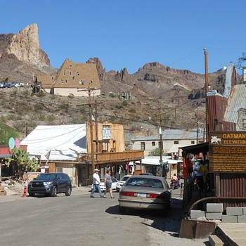 Route 66 Oatman, AZ - Photographs