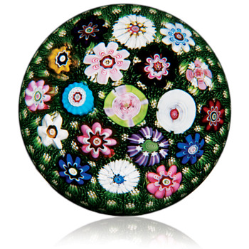 Antique Clichy Paperweight - Art Glass