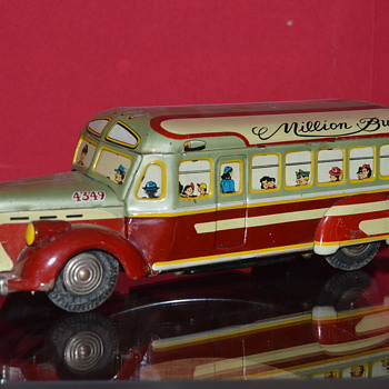 million bus - Model Cars