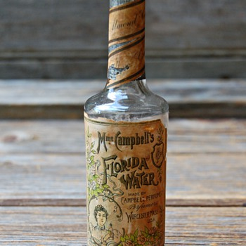 Mme Campbell's Florida Water Perfume Bottle