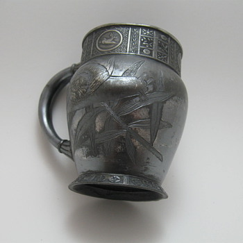 Meridian Silver Plated Mug