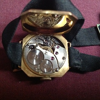 olg gold watch