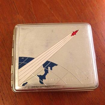 Sputnik Souvenir Cigarette Case