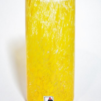 CZECH REPUBLIC VASE  - Art Glass