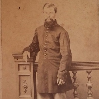 Civil War soldier cdv, Andersonville POW