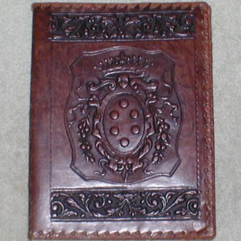 Leather Book Cover - Books