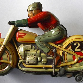 Toy Motorcycle Early 50s