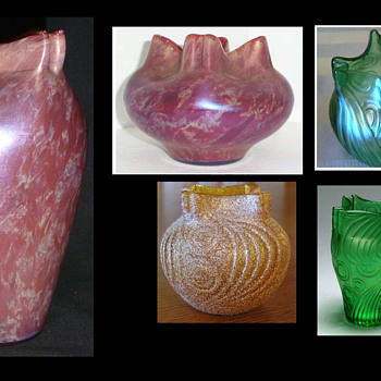 Welz Spiraloptisch?? – Who Made the Décor? – Heresy & Insantiy - Round Two ! - Art Glass