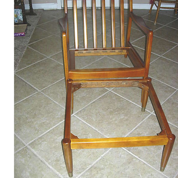 Danish Modern Chair you can disassemble - Furniture
