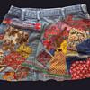 #23 ~ Original Hippie Patched & Embroidered Denim Miniskirt #24, #25