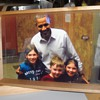 Barack Obama photograph serving tray