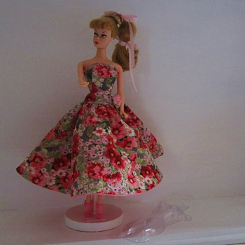 1950s Inspiration - Spring Flowers Dress - Dolls