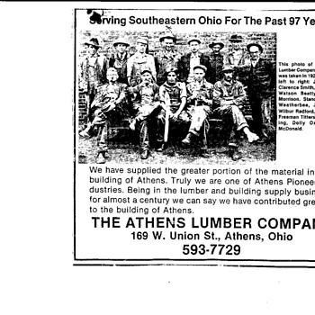 Athens Ohio Lumber Company