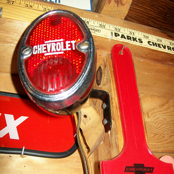 New Old Stock 1936 Chevy taillight