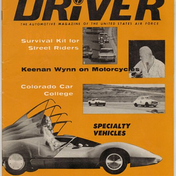 USAF Driver Magazine - July 1967 Issue - Paper