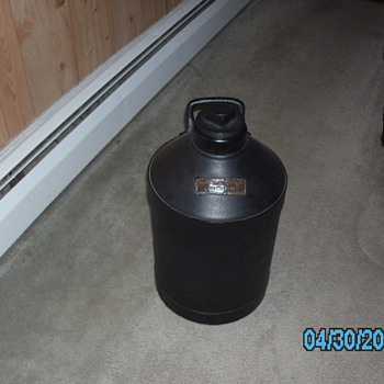 rare texas company oil jug - Petroliana