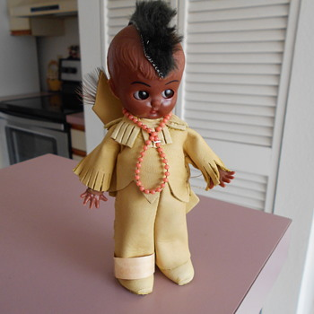 Oglala Sioux Indian Doll