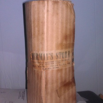 American Bourbon Whiskey from 1938 Havana Cuba - unopened